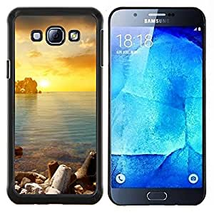 Stuss Case / Funda Carcasa protectora - Oro Sung Mar - Samsung Galaxy A8 A8000