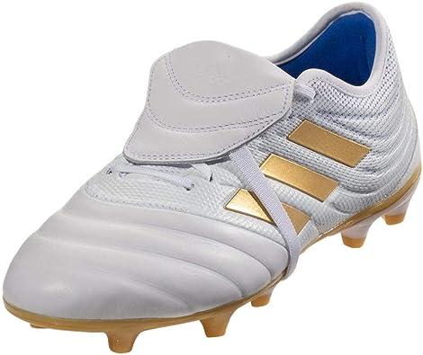 lente golondrina gerente  adidas Copa Gloro 19.2 FG Soccer Cleats White/Gold Metallic/Football Blue:  Amazon.es: Zapatos y complementos