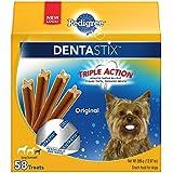 Pedigree Dentastix Original Toy/Small Treats For Dogs, 13.97 Ounces, 58 Count