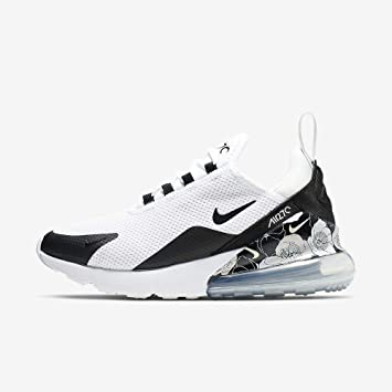 Amazon Com Nike Women S Air Max 270 Se Shoes 7 5 Black White Kitchen Dining