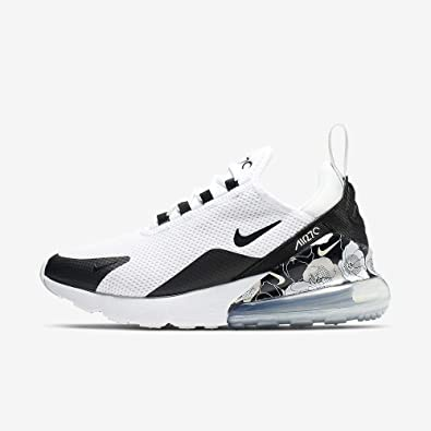 Nike Women\u0027s Air Max 270 SE Shoes (7.5, Black/White)