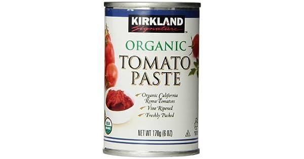 Kirkland Signature Pasta de tomate orgánico, 6oz latas, 12 ...
