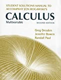 Student's Solutions Manual for Multivariable Calculus: Early and Late Transcendentals