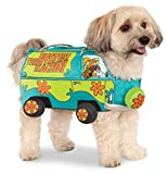 Official Rubie's Scooby-Doo Mystery Machine Pet Dog Costume, Size: Medium Neck to Tail 15 inch, Chest 17 inch