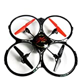Magicwand 6 Channel LH-X4 Remote Controlled 6 Axis Quadcopter with Extra Blades