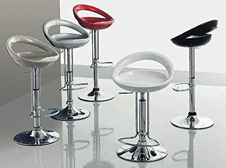 Zamagna sgabello regolabile design moby seduta abs struttura metallo