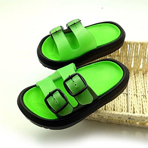 7a67cbe15 Toddler Little Kids Summer Sandals Non-Slip Boy Girl Slide Lightweight Beach  Water Shoes Shower