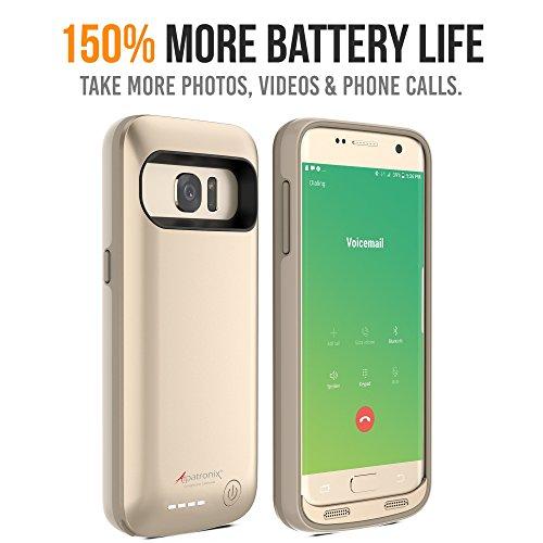 brand new dcf57 a7ac0 Alpatronix Galaxy S7 Battery Case, BX420 4500mAh Slim External ...