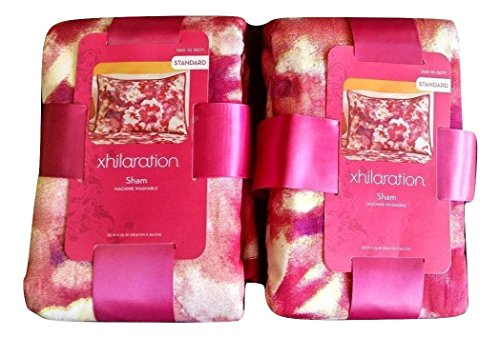 Xhilaration Floral Watercolor Standard Sham 1