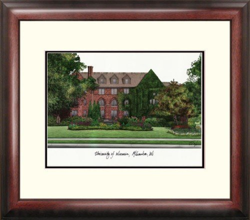 University of Wisconsin, Milwaukee Alumnus Framed Lithograph by Landmark Publishing