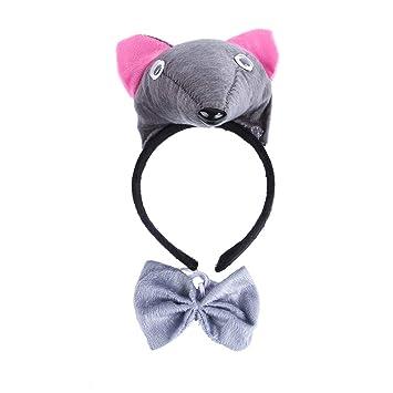 Pollusui Accesorios para Disfraces de Navidad para Perros y Gatos Accesorios para Disfraces de Navidad (Color : Mouse, Size : Adjustable): Amazon.es: Hogar