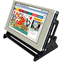 Corkea Raspberry Pi 7 Inch 480800 Capacitive Touchscreen Display Lcd Hdmi Input With Case
