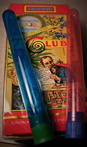 SD MODIANO SINGLE WIDTH CLUB PARALLEL ROLLING PAPERS FULL BOX 50 PACKS Includes 2 DoobTubes
