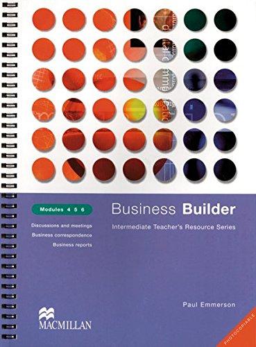 Business Builder, Modules 4, 5, 6