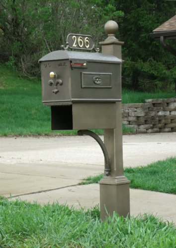 Imperial Estate Sized Bronze (Estate Mailbox)