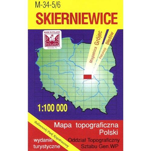 Skierniewice Region Map Unknown 9788371350832 Amazon Com Books