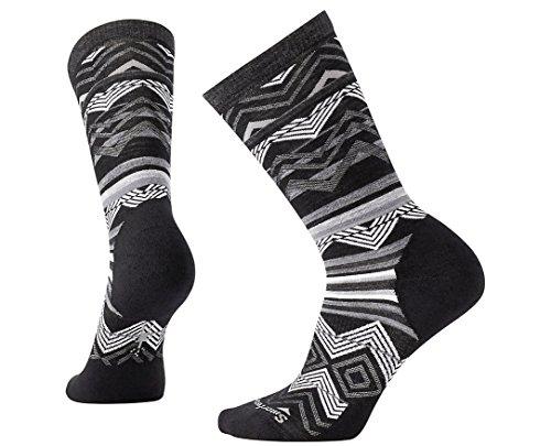Smartwool Women's Ripple Creek Crew Socks (Black) Medium