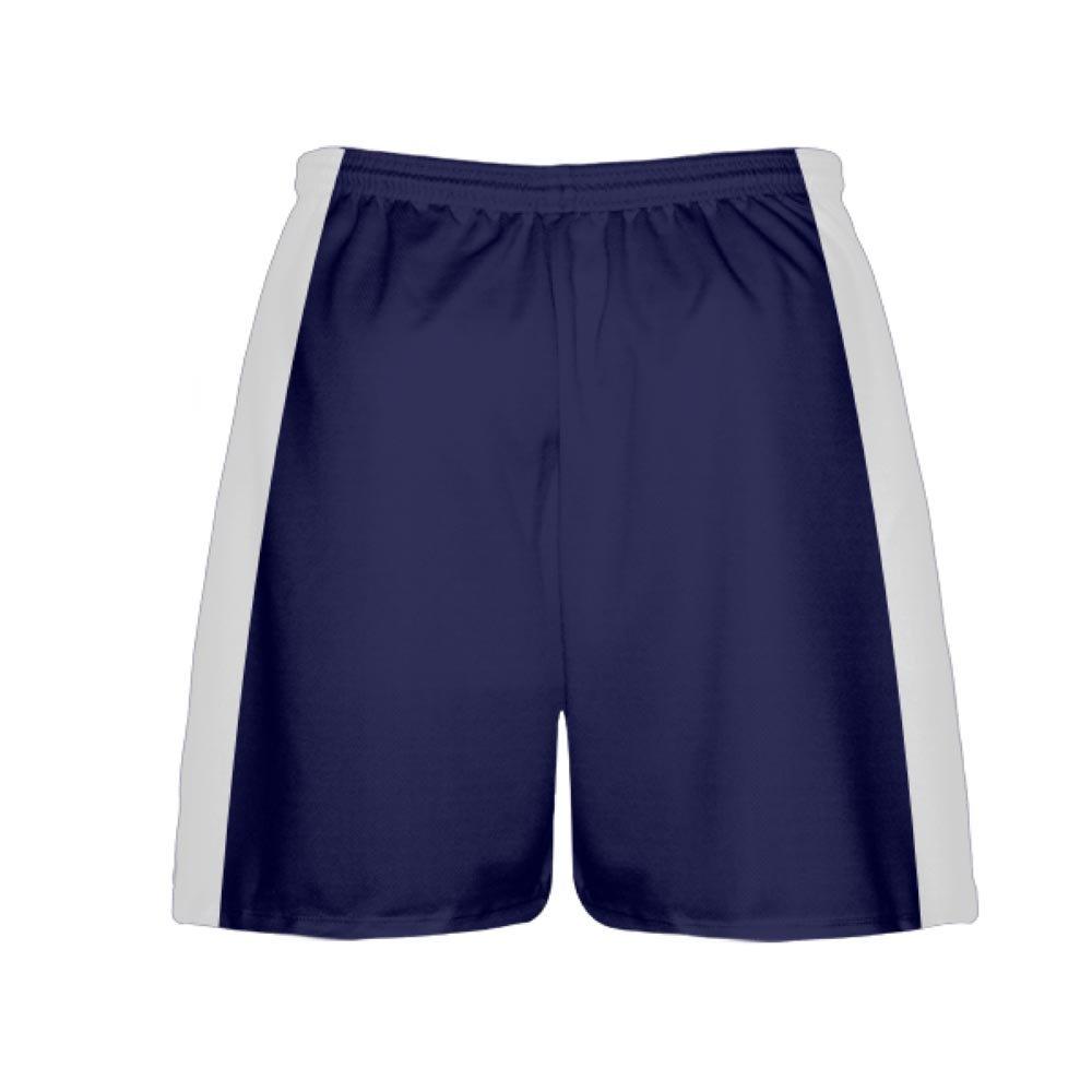 Youth Youth Navy Blue LightningWear Youth Navy Blue Lacrosse Shorts