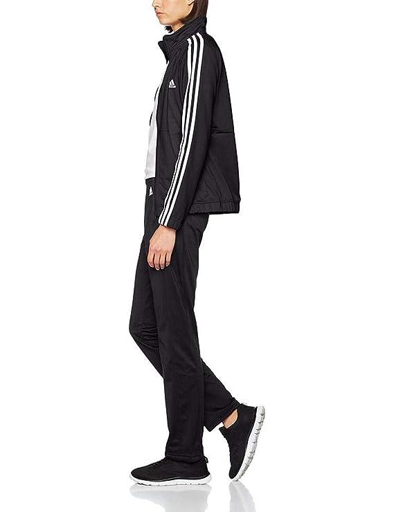 adidas Back2bas 3s TS Chándal, Mujer, Negro (Negro/Blanco/Negro ...