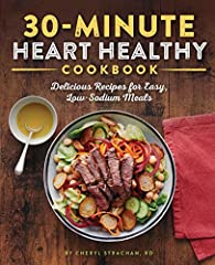 Fast, flavorful recipes for a strong, healthy heart.              Food is a critical driver of heart health, and this cookbook helps you take the wheel. The 30-Minute Heart Healthy Cookbook is full of simple, satisfying meals ...