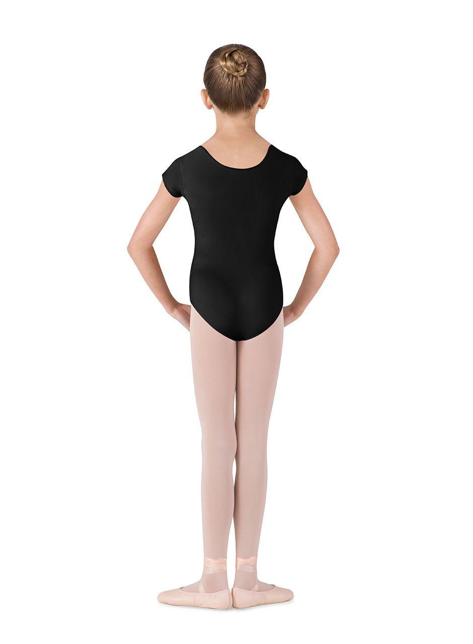 Bloch Dance Girls Dujour Microlux Short sleeve Leotard