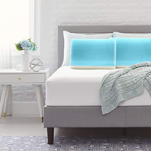 Comfort Revolution Originals Contour Blue Bubble Gel + Memory Foam Pillow