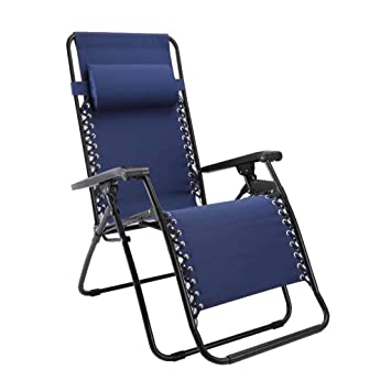 Sillón reclinable Plegable Sillas de terraza de jardín Relajador de ...