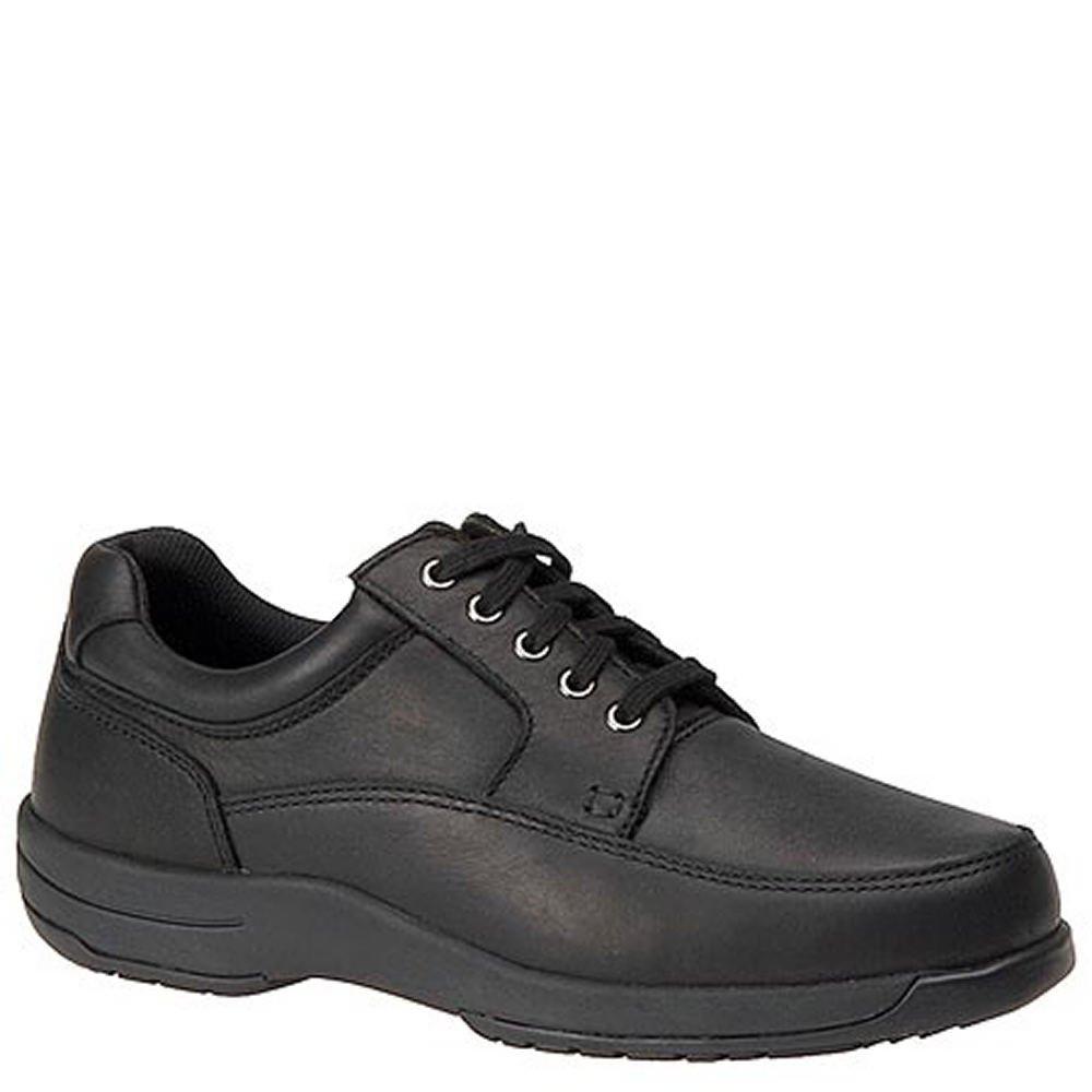Walkabout Men's Lace-Up Walking Shoe 13 D(M) US|Black