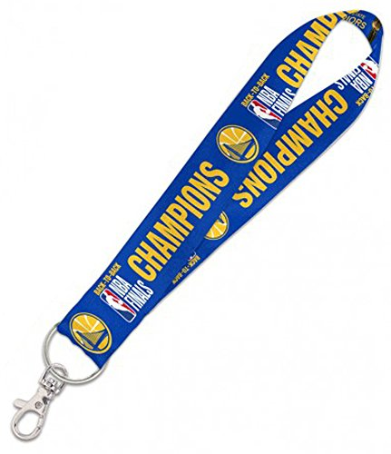 WinCraft Golden State Warriors 2018 NBA Champions Key Strap Key Chain by WinCraft