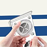 TOODOO 2 Pack Flying Insect Screen RV Furnace Vent