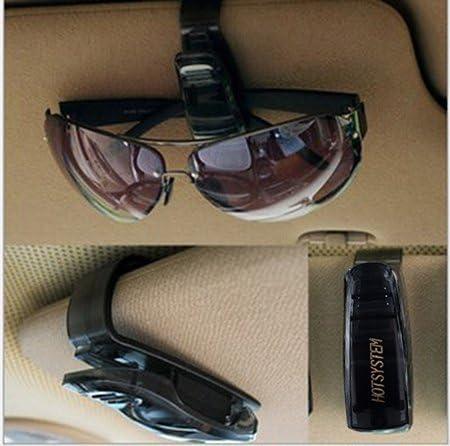 Hotsystem 2 X Auto Brillenhalterung Sonnenbrillenhalterung Für Sonnenblende Im Auto Pkw Lkw Kfz Brillenablage Auto