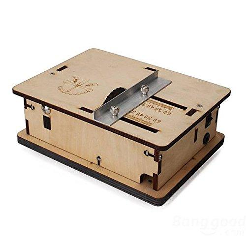 mark8shop DIY Mini sierra de mesa hecho a mano modelo de ...
