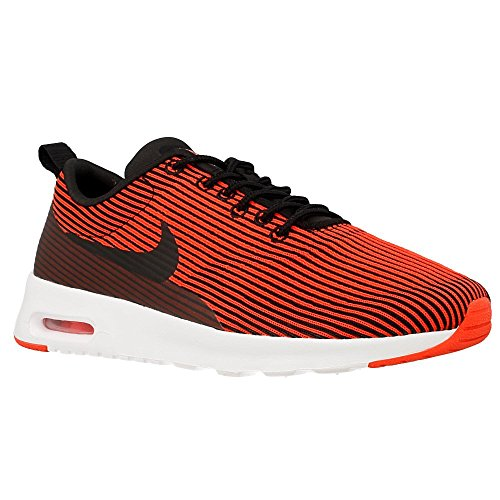 Nike Womens air max thea JRCRD Running Trainers 718646 Sneakers Shoes (US 9, Black Bright Crimson White 007) (Nike Air Max Thea Black And Red)