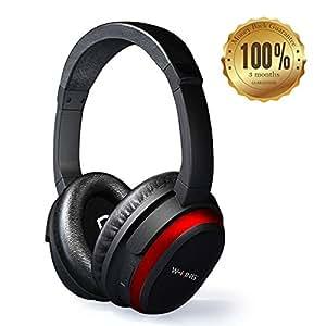 Amazon.com: Active Noise Cancelling Headphones Bluetooth ...