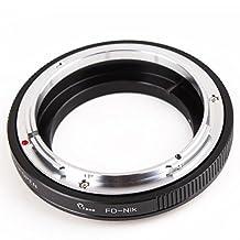 Pixco Pro Lens Mount Adapter for Canon FD Lens to Nikon F Adapter D7000 D300S D7100 D5200 D600 D3X D90 D700