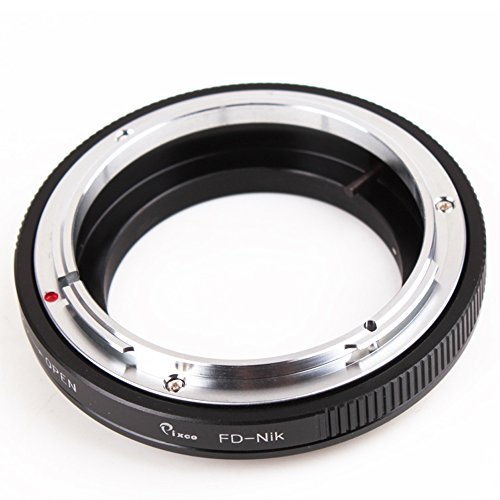 nt Adapter for Canon FD Lens to Nikon F Adapter D5600 D3400 D500 D5 D7200 D810A D5500 D750 D4 D3300 D610 D5300 (Lens Mount Adapter Ring)