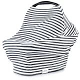 Multi-Use Nursing Cover, Stroller Cover, Car Seat Canopy & Scarf Stripe Deal
