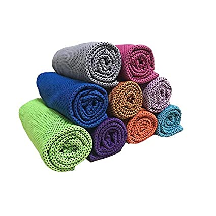 BUCKLE UP Quick Dry Soft Synthetic Sports Towel (Assorted Colour)