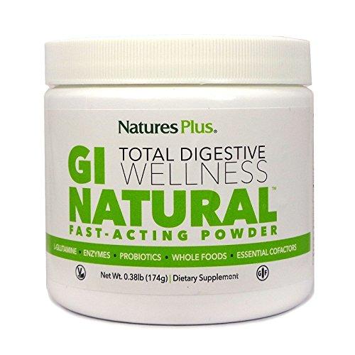 Nature's Plus - GI Natural Drink Powder - Total Digestive Wellness, 0 .38 lbs Powder
