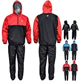 RDX MMA Sauna Suit Running Non Rip Sweat Track Weight Loss Slimmimg Fitness Gym Exercise Training
