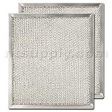 "Appliances : Aluminum Range Hood Filter - 9"" X 10 3/32"" X 3/8"""