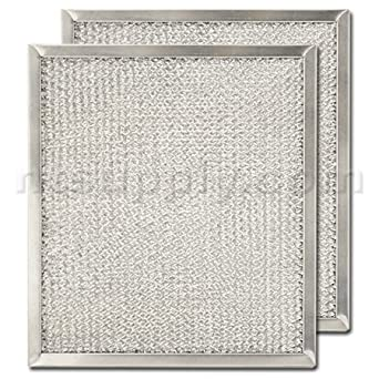 aluminum range hood filter 9 x 10 3 32 x 3 8 appliances. Black Bedroom Furniture Sets. Home Design Ideas