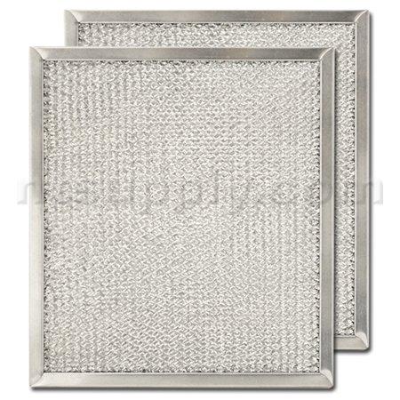 Aluminum Range Hood Filter - 9' X 10 3/32' X 3/8'