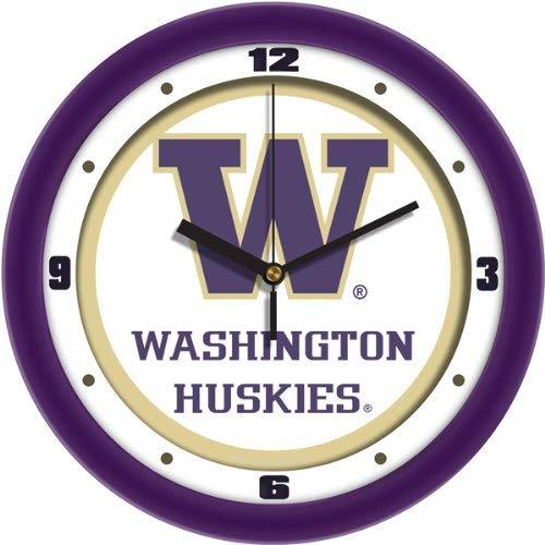 - NCAA Washington Huskies Traditional Wall Clock (Renewed)
