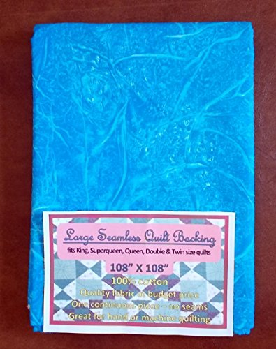 Quilt Backing, Large, Seamless, Blue, C49378-A01