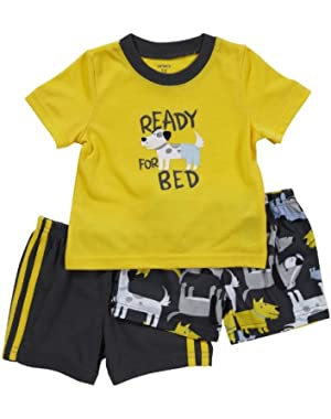 Carter's Baby Boys 3 Piece Pajama set (Ready For Bed, 18 Months)