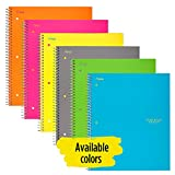 Five Star Spiral Notebook, 1 Subject, College Ruled Paper