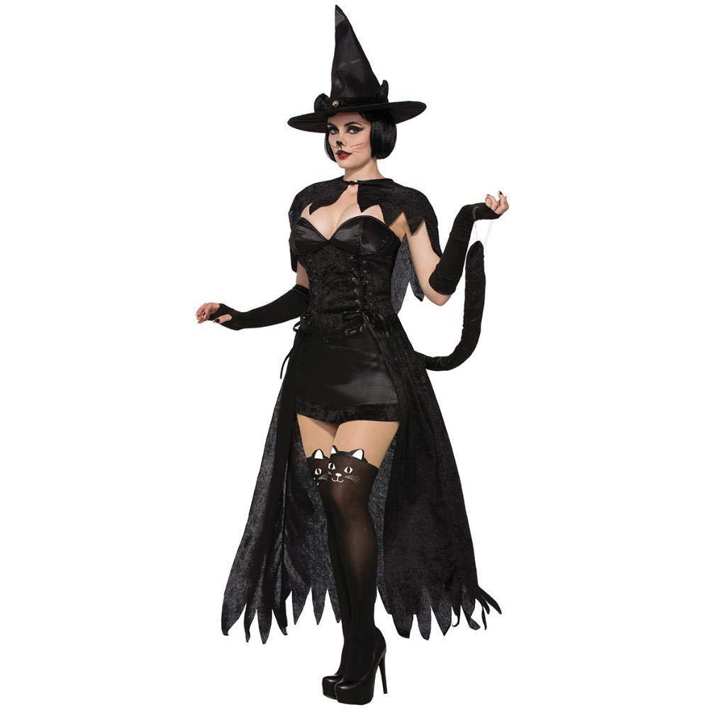 Yunfeng Hexenkostüm Damen Hexenkostüm Damen Damen Halloweenkostüm Cosplay Cosplay sexy Queen Umhang Dämon Hexenkostüm