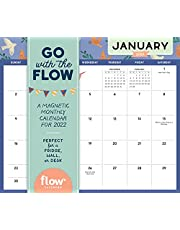 2022 Go with the Flow Magnetic Calendar: Stay Organized and Mindful All Year Long.