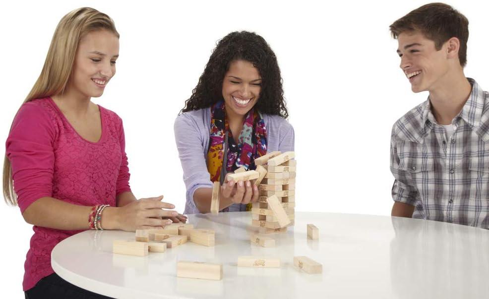 jeu de société de bois jenga